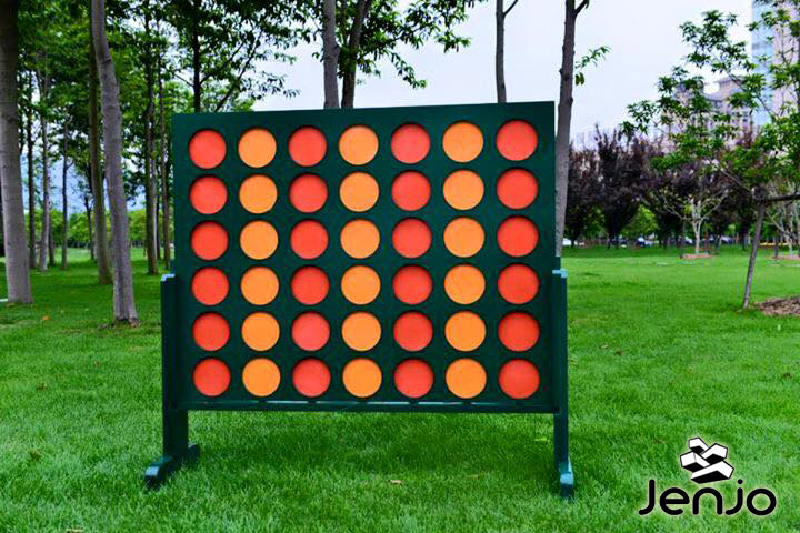 Giant Four in a Row - Outdoor Lawn Games by Jenjo Games Australia