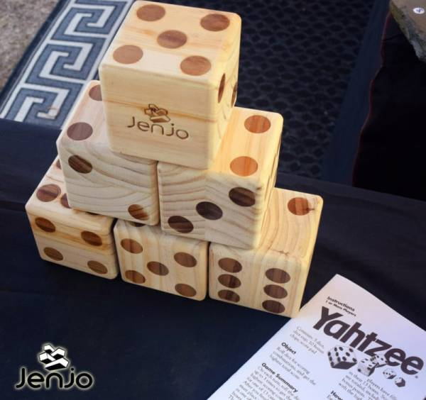 Giant Yahtzee by Jenjo Games Australia