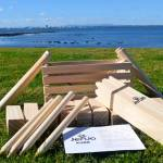 kubb game - hire kubb game