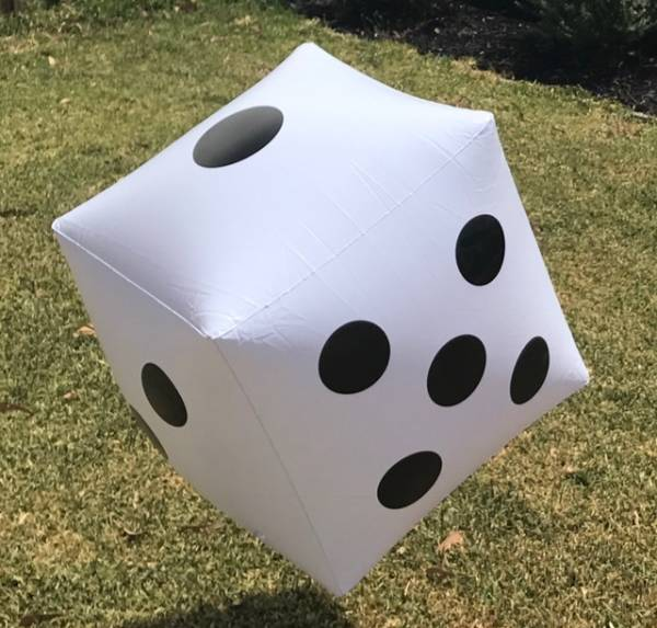 Giant Inflatable Die