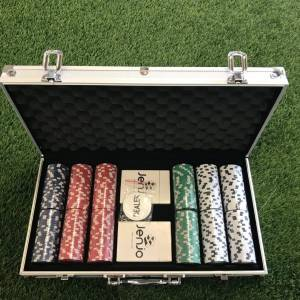 Poker Set With Aluminum Case