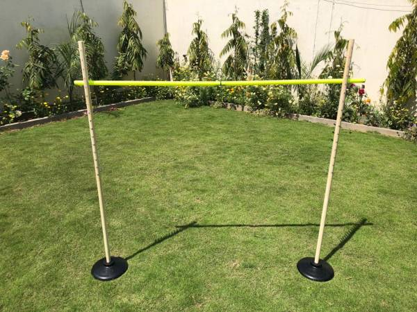 Wooden Limbo Set | Hire Wooden Limbo Set | Jenjo Games