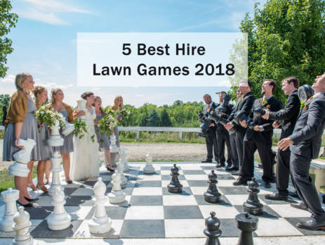 5 Best Hire Lawn Games 2018