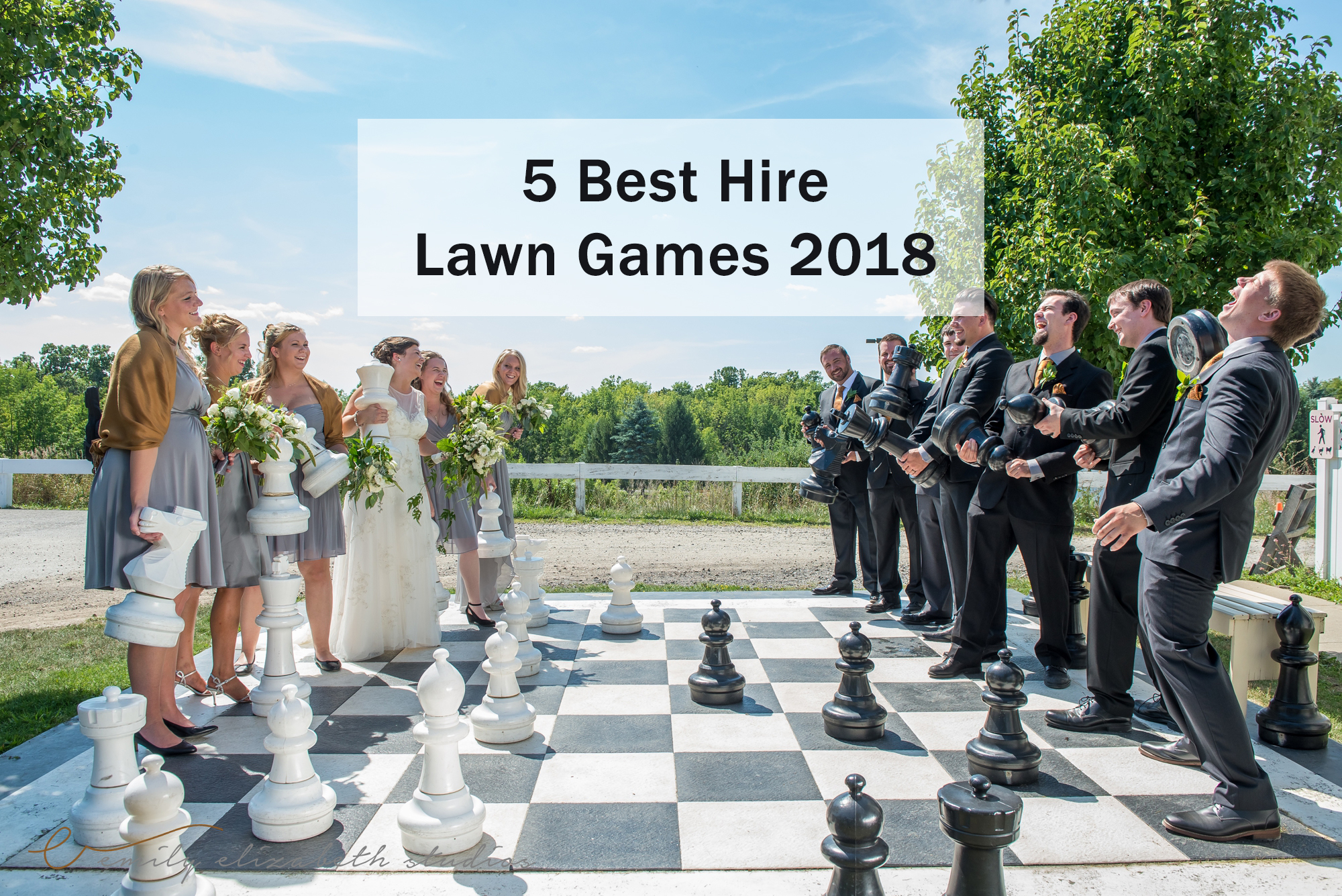 5 Best Hire Lawn Games 2018