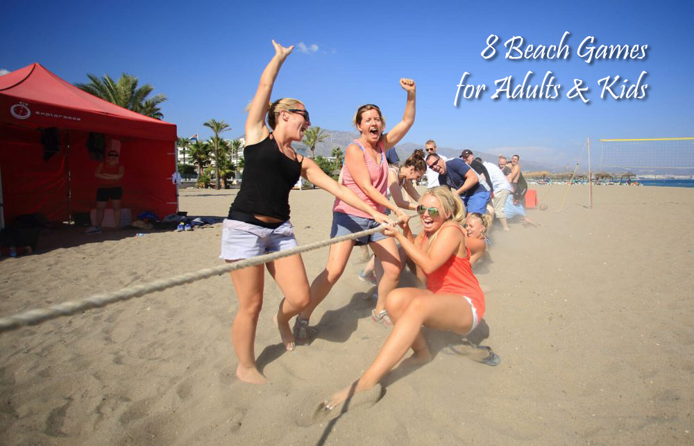 8 Beach Games for Adults and Kids