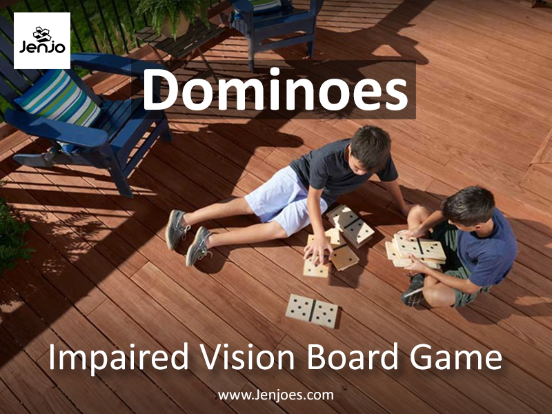 Dominoes Impaired Vision Board Game