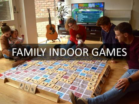 Family Indoor Games | Jenjo Games