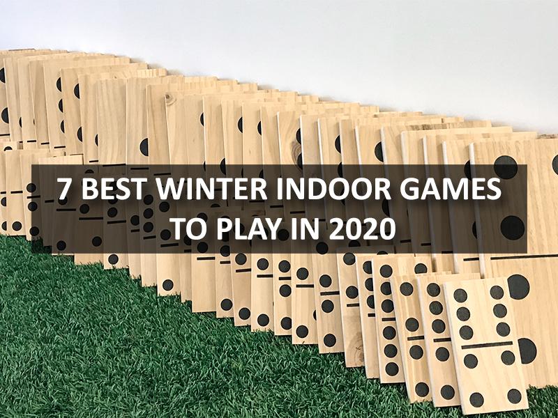winter indoor games
