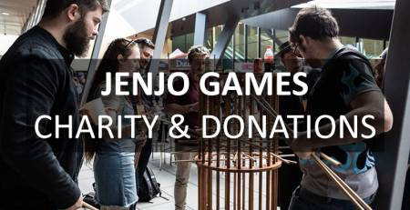 Jenjo Games Charity & Donations