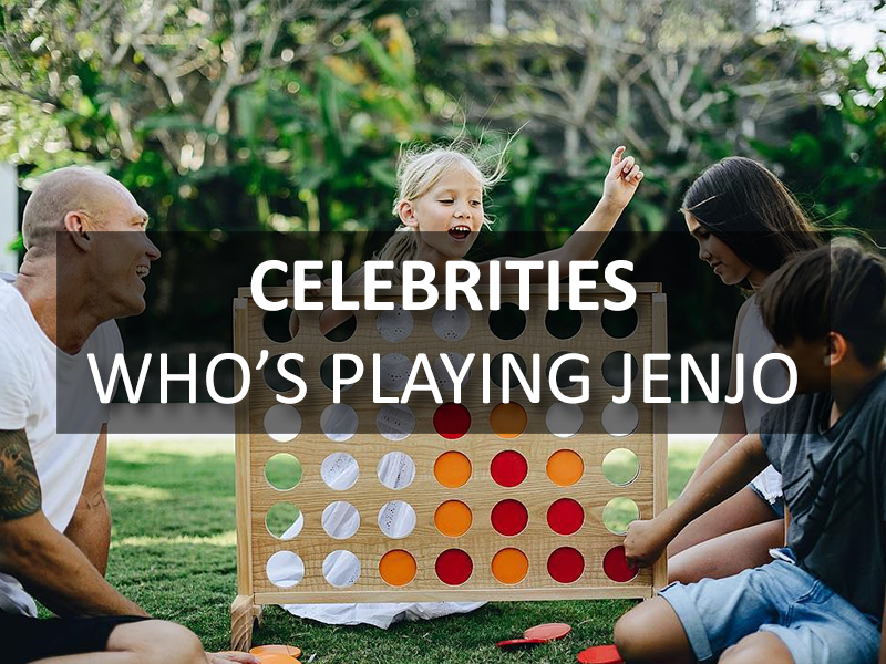 Celebrities who's playing Jenjo